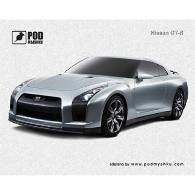 Килимок для миші Podmyshku Nissan GT-R - купить в интернет-магазине Анклав