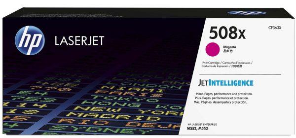 Картридж HP 508X CLJ M552DN/M553DN/N/X Magenta (max) (CF363X) - купить в интернет-магазине Анклав