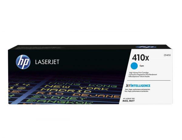 Картридж HP 410X CLJ Pro M452DN/M452NW/M477FDN/M477FDW/M477FNW Cyan (max) (CF411X) - купить в интернет-магазине Анклав