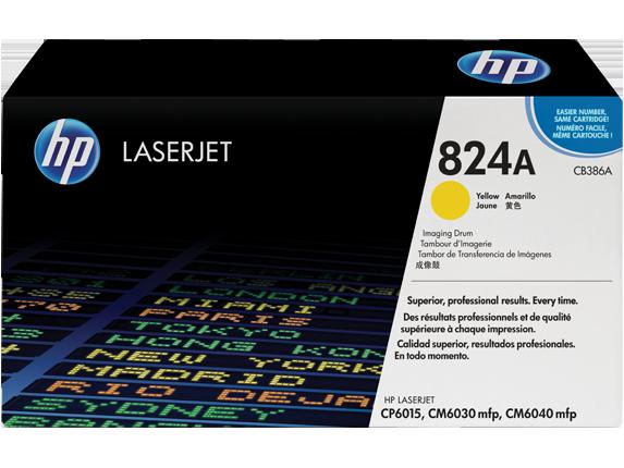 Драм-юнит HP 824A CLJ CM6030/CM6040 (CB386A) Yellow - купить в интернет-магазине Анклав