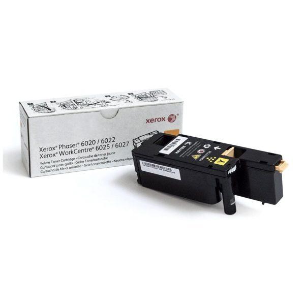 Картридж Xerox (106R02762) Phaser 6020/6022/WC6025/6027 Yellow - купить в интернет-магазине Анклав