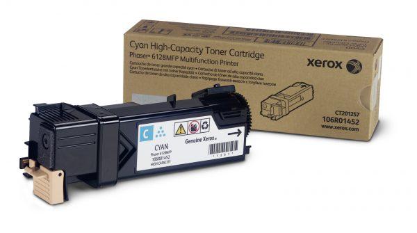 Картридж Xerox (106R01456) Phaser 6128 Cyan - купить в интернет-магазине Анклав