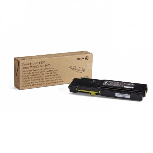 Картридж Xerox (106R02235) Phaser 6600/WC6605 Yellow (max) - купить в интернет-магазине Анклав