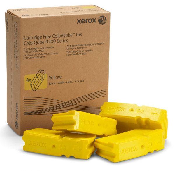 Брикеты твердочернильные Xerox (108R00839) CQ9201/9202/9203 Yellow - купить в интернет-магазине Анклав