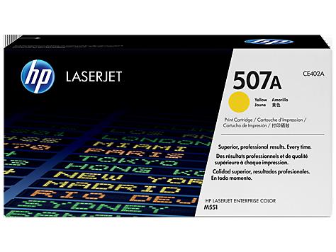 Картридж HP 507A CLJ M551N/551DN/551XH Yellow (CE402A) - купить в интернет-магазине Анклав
