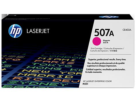 Картридж HP 507A CLJ M551N/551DN/551XH Magenta (CE403A) - купить в интернет-магазине Анклав