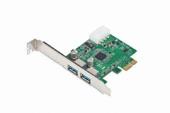 Контролер PCI-E 2xUSB 3.0 Gembird (UPC-30-2P) - купить в интернет-магазине Анклав