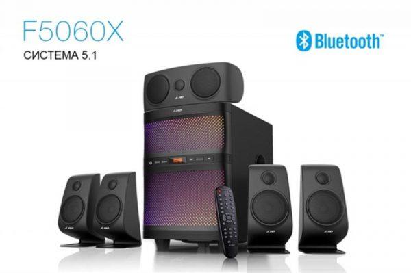 Акустична система F&D F5060X Black - купить в интернет-магазине Анклав