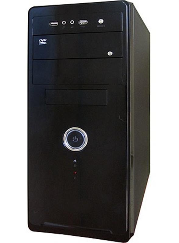 Корпус Delux MD208 Black 450W - купить в интернет-магазине Анклав