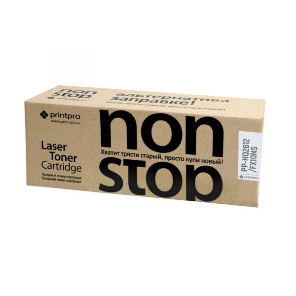 Картридж PrintPro NonStop (PP-HQ2612/FX10NS) HP LJ 1010/Canon MF4018/4120 Black (аналог Q2612A/Canon FX10) - купить в интернет-магазине Анклав