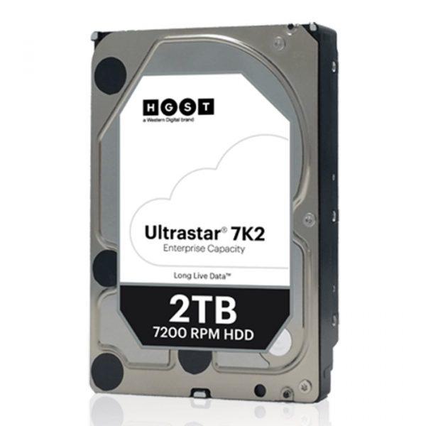 HDD SATA 2.0TB Hitachi (HGST) Ultrastar 7K2 7200rpm 128MB (HUS722T2TALA604/1W10002) - купить в интернет-магазине Анклав