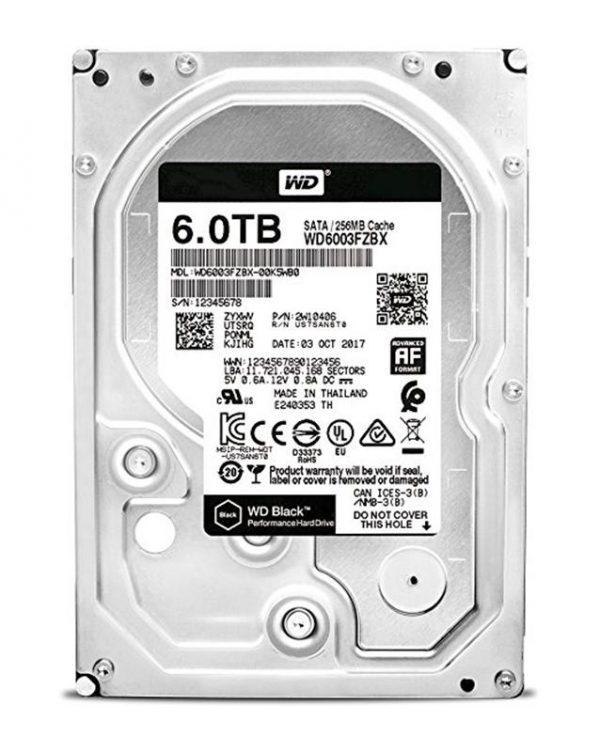 Накопичувач HDD SATA 6.0TB WD Black 7200rpm 256MB (WD6003FZBX) - купить в интернет-магазине Анклав