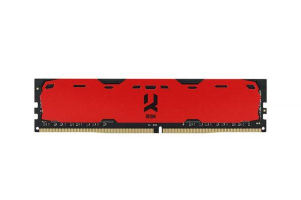 Модуль памяти DDR4 8GB/2400 GOODRAM Iridium Red (IR-R2400D464L15S/8G) - купить в интернет-магазине Анклав