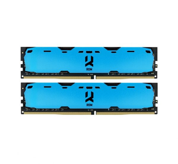Модуль памяти DDR4 2x4GB/2400 GOODRAM Iridium Blue (IR-B2400D464L15S/8GDC) - купить в интернет-магазине Анклав
