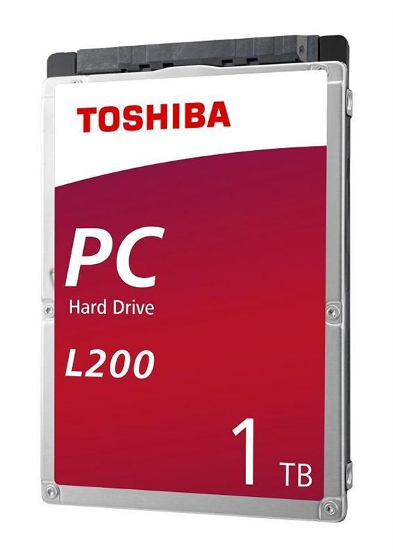 "Накопичувач HDD 2.5"" SATA 1.0TB Toshiba L200 5400rpm 128MB (HDWL110UZSVA) - купить в интернет-магазине Анклав"