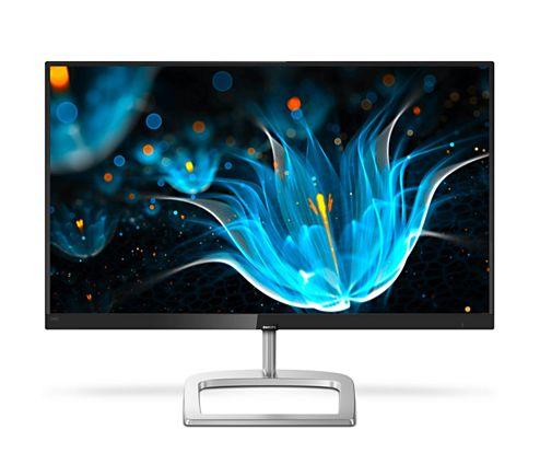 """Монiтор Philips 23.8"""" 246E9QJAB/00 IPS Black/Silver - купить в интернет-магазине Анклав"""