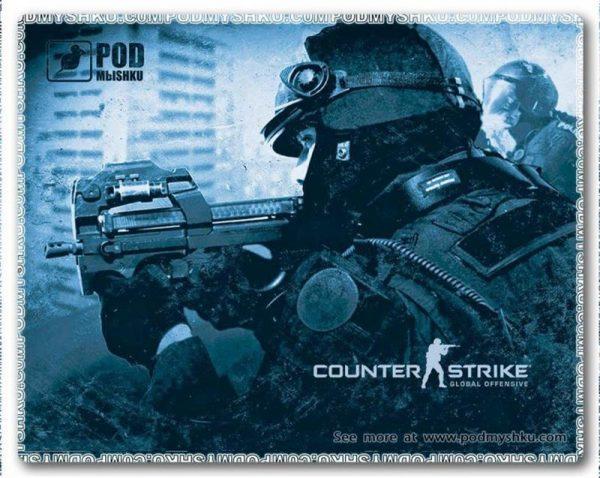 Килимок для миші Podmyshku Counter strike - купить в интернет-магазине Анклав