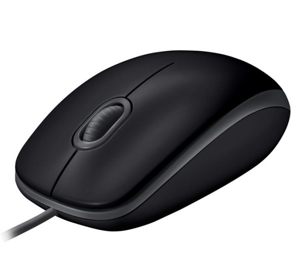Мишка Logitech B110 Silent (910-005508) Black USB - купить в интернет-магазине Анклав