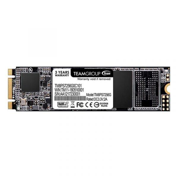 SSD  256GB Team MS30 M.2 2280 SATAIII TLC (TM8PS7256G0C101) - купить в интернет-магазине Анклав