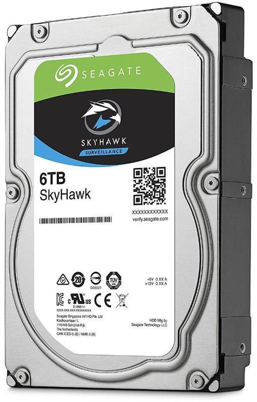 Накопичувач HDD SATA 6.0TB Seagate SkyHawk Surveillance 256MB (ST6000VX001) - купить в интернет-магазине Анклав