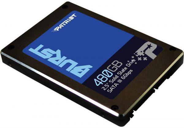 """Накопитель SSD  480GB Patriot Burst 2.5"""" SATAIII 3D TLC (PBU480GS25SSDR) - купить в интернет-магазине Анклав"""