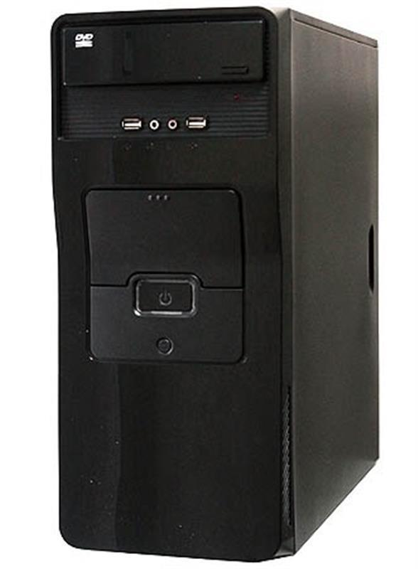 Корпус Delux MD275 Black 400W 8Fan - купить в интернет-магазине Анклав