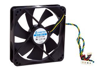 Вентилятор Chieftec Thermal Killer AF-1225PWM, 120мм, 1650 об/мин, 4pin PWM/Molex, 31dBa - купить в интернет-магазине Анклав