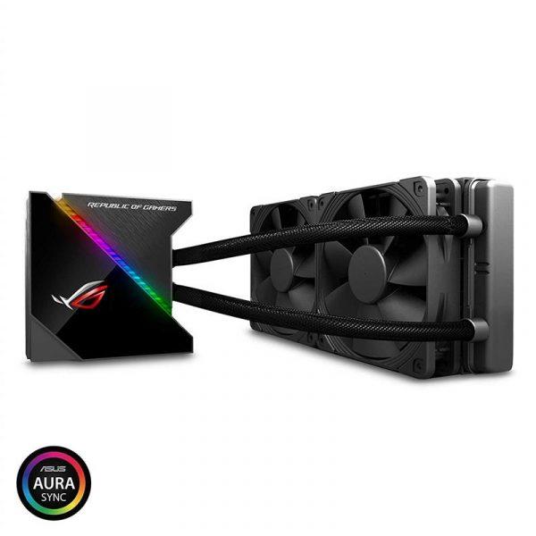 Система водяного охлаждения Asus ROG Ryujin 2x120mm Aura OLED (ROG-RYUJIN-240) - купить в интернет-магазине Анклав