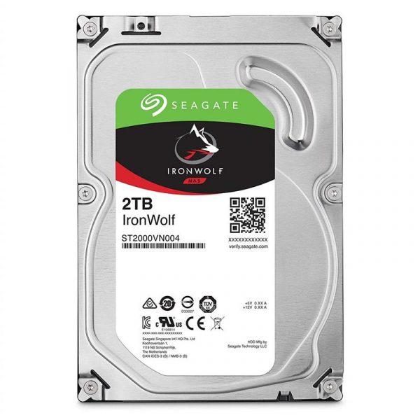 Накопичувач HDD SATA 2.0TB Seagate IronWolf NAS 5900rpm 64MB (ST2000VN004) - купить в интернет-магазине Анклав