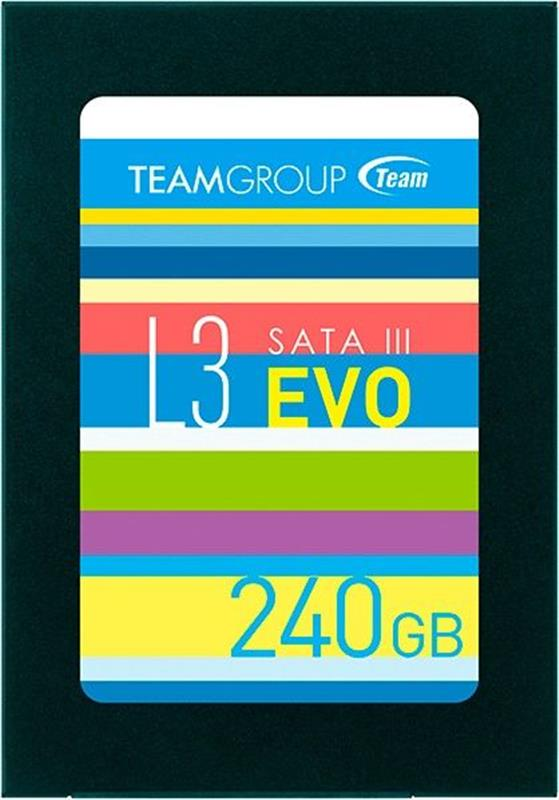 "SSD  240GB Team L3 EVO 2.5"" SATAIII TLC (T253LE240GTC101) - купить в интернет-магазине Анклав"