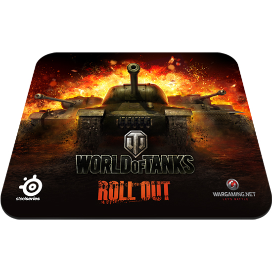 Ігрова поверхня SteelSeries QcK World of Tanks Edition (67269) - купить в интернет-магазине Анклав