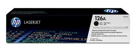 Картридж HP 126A CLJ CP1025/1025NW Black (CE310A) - купить в интернет-магазине Анклав