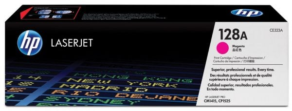 Картридж HP 128A LJ CP1525N/1525NW/CM1415FN/1415FNW Magenta (CE323A) - купить в интернет-магазине Анклав