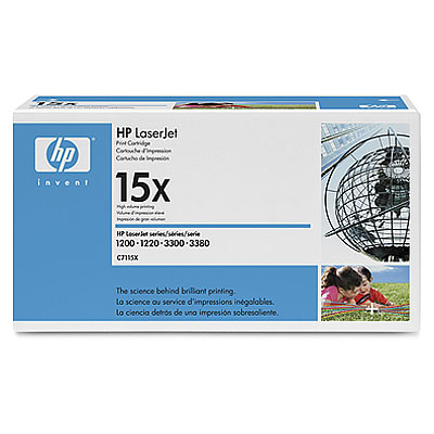 Картридж HP 15X LJ 1200/1220 max (C7115X) - купить в интернет-магазине Анклав