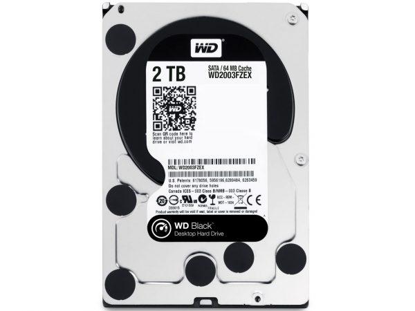 HDD SATA 2.0TB WD Black 7200rpm 64MB (WD2003FZEX) - купить в интернет-магазине Анклав