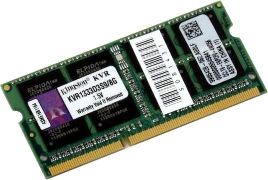 SO-DIMM 8GB/1333 DDR3 Kingston (KVR1333D3S9/8G) - купить в интернет-магазине Анклав