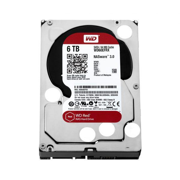 HDD SATA 6.0TB WD Red 5400rpm 64MB (WD60EFRX) - купить в интернет-магазине Анклав