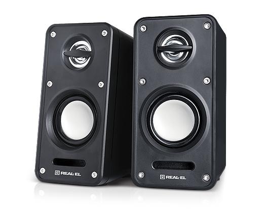 Акустична система REAL-EL 2.0 S-60 Black - купить в интернет-магазине Анклав