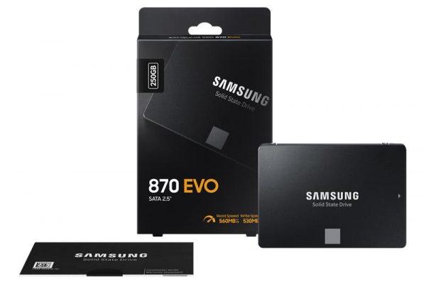 "SSD 2,5"" 250GB 870 EVO Samsung (MZ-77E250BW) - купить в интернет-магазине Анклав"