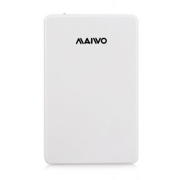 Зовнішній бокс для 2.5' HDD Maiwo K2503D white USB3.0 - купить в интернет-магазине Анклав