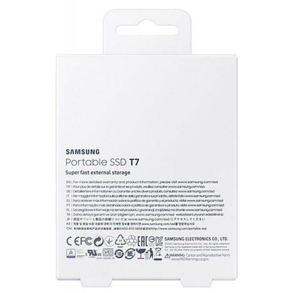 Накопитель SSD USB 3.2 2TB T7 Samsung (MU-PC2T0T/WW) - купить в интернет-магазине Анклав