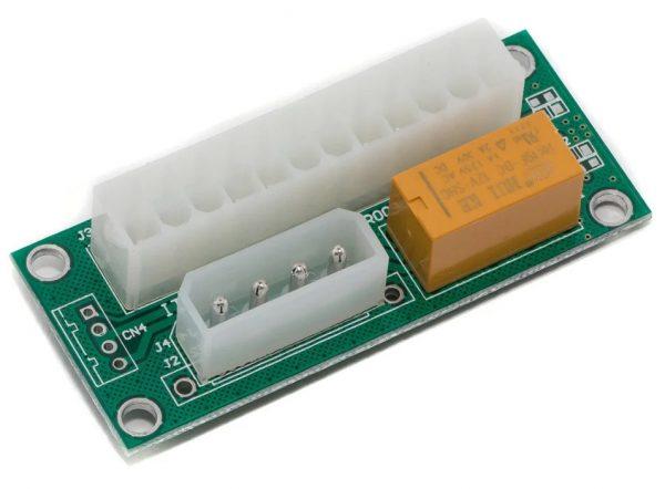 Синхронізатор блоків живлення з реле ATX2ATX-N03 VER004 - купить в интернет-магазине Анклав