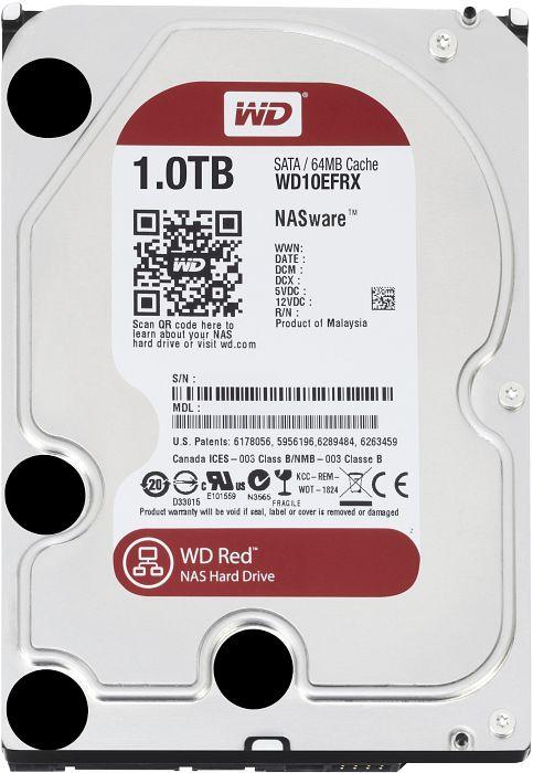 Накопичувач HDD SATA 1.0TB WD Red 5400rpm 64MB (WD10EFRX) - купить в интернет-магазине Анклав