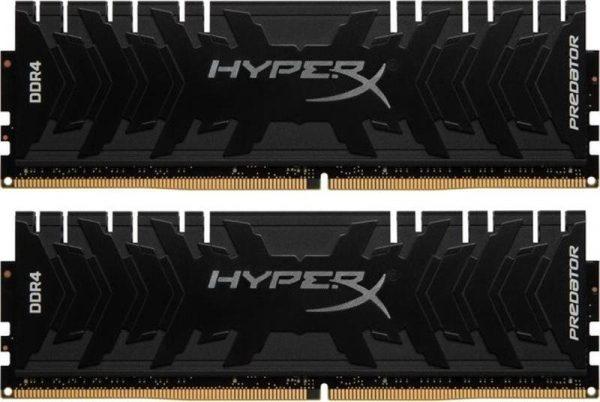 Модуль памяти DDR4 2x8GB/3333 Kingston HyperX Predator Black (HX433C16PB3K2/16) - купить в интернет-магазине Анклав
