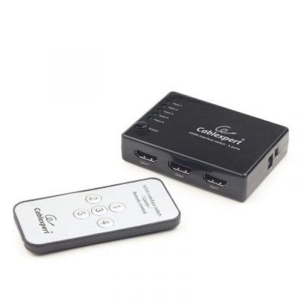 Комутатор Cablexpert (DSW-HDMI-53) 5хHDMI-HDMI - купить в интернет-магазине Анклав