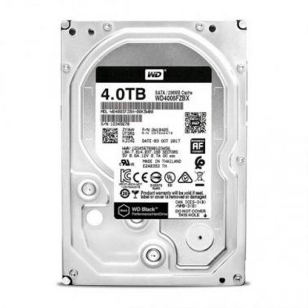 Накопичувач HDD SATA 4.0TB WD Black 7200rpm 256MB (WD4005FZBX) - купить в интернет-магазине Анклав