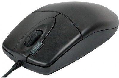 Мишка A4Tech OP-620D Black USB - купить в интернет-магазине Анклав
