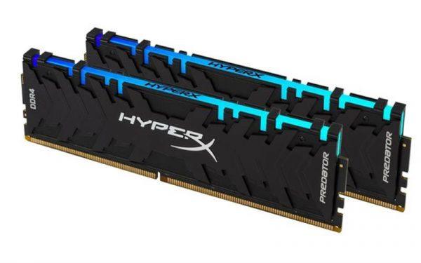 Модуль памяти DDR4 2x16GB/3200 Kingston HyperX Predator RGB (HX432C16PB3AK2/32) - купить в интернет-магазине Анклав