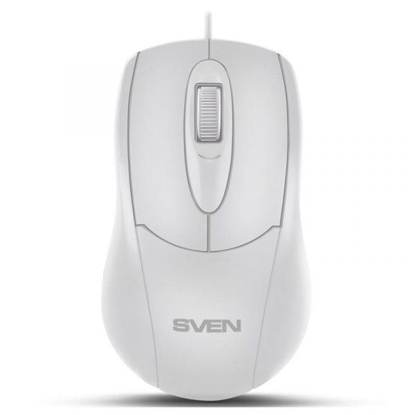 Мишка Sven RX-110 White USB - купить в интернет-магазине Анклав