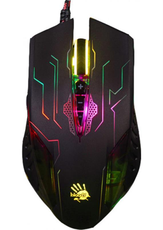 Мышь A4Tech Q50 Bloody Battlefield Black USB - купить в интернет-магазине Анклав